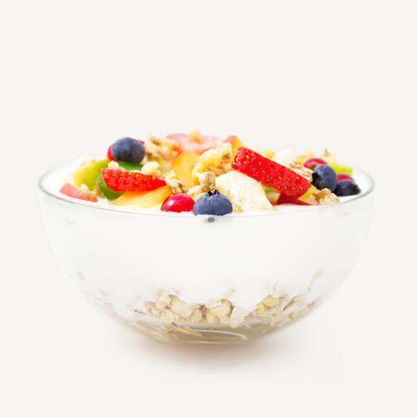 Γεύματα Ενέργειας <br> με Γιαούρτι